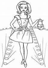 Coloring Pages Topmodel Coloringway sketch template