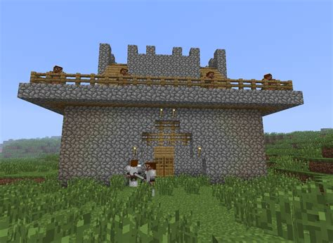 siege fortress siege castle minecraft project