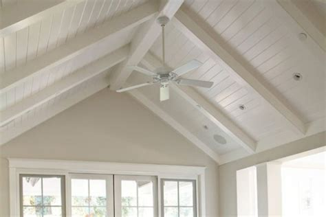 Vaulted Beadboard Ceiling : Ceiling Fans For Vaulted Ceilings