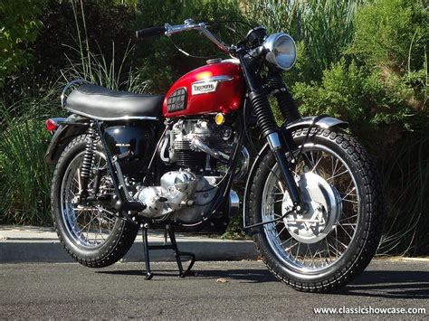 1969 Triumph Motorcycles Tr6c 650 Trophy By Classic