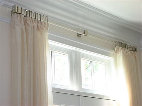 Kitchen Window Decorating Ideas - umbra curtain rods rectangular window curtain rod curtain treatments for large windows design