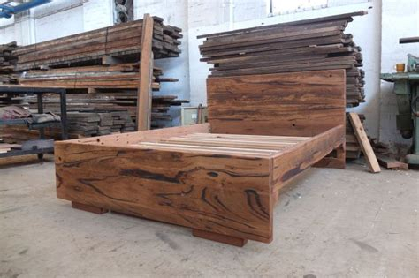 recycled hardwood bed melbourne timber beds timber bed