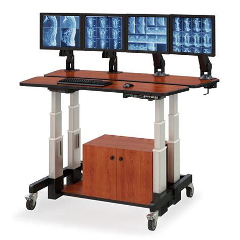 large adjustable height desk level height adjustable desk afcindustries com