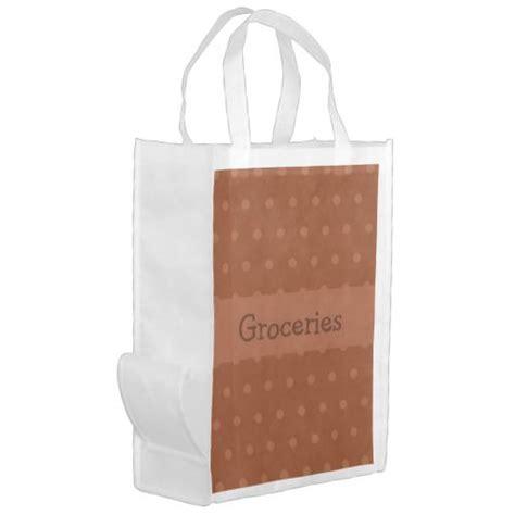 fall pumpkin spice grocery bag zazzlecom  images reusable grocery bags grocery bag bags