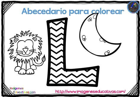 abecedario para colorear listo para descargar e imprimir zig zag 12 imagenes educativas