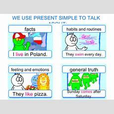 Englishmania Present Simple Or Present Continuous?