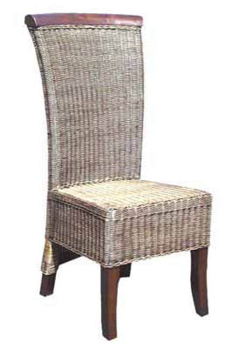 dining rattan casual side chair