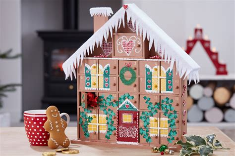 How To Make A Gingerbread House Advent