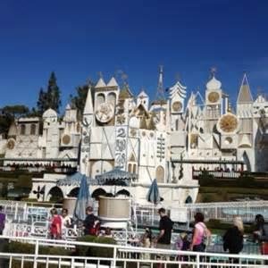 Its a Small World at Disneyland