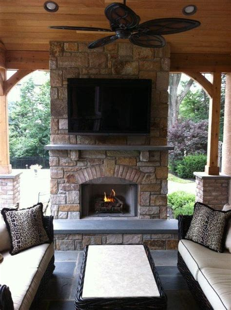 patio and deck fireplace designs fireplaces for decks