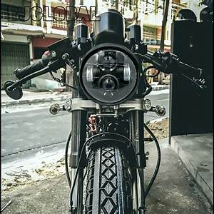 Jual Lampu Utama Headlamp Led Daymaker Harley Cafe Racer