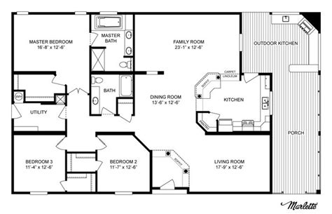 Clayton Home Floor Plans by Clayton Homes Home Floor Plan Manufactured Homes