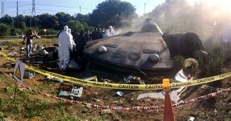 Crashed fireball UFO being 'investigated by secret agents ...