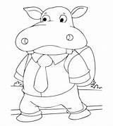 Hippo Coloring Pages Hippopotamus Hippos Printable Student Going Momjunction Toddlers Animals Animal Popular Categories Books sketch template