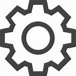 Zahnrad Tandwiel Symbol Icon Icons Rueda Dentada