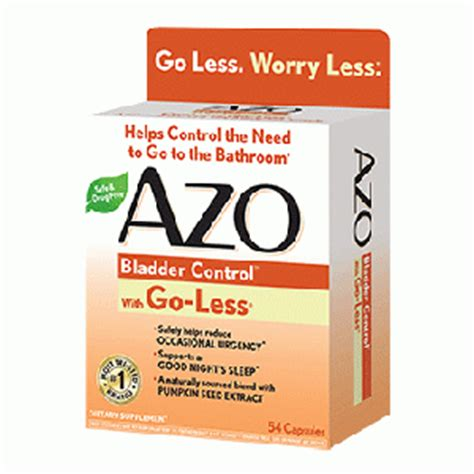 package  azo bladder control