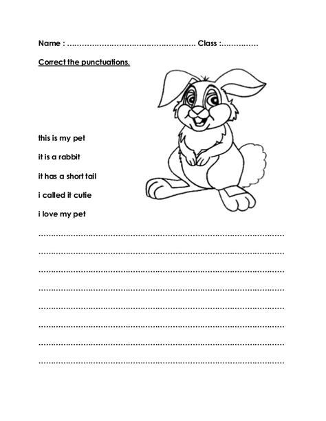 worksheets title  pet