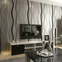 modern kitchen living room ideas luxe gris beige 3d tv salon chambre papier peint moderne