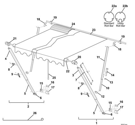 a e awning parts rv awning parts diagram 23 wiring diagram images