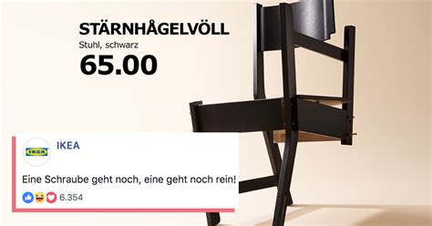 Ikea Teil Fehlt da fehlt kein teil ikea bleibt das lustigste m 246 belhaus