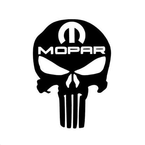 jeep vinyl decals punisher skull truck car vinyl decal window sticker for