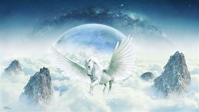 Angel Desktop Backgrounds Unicorn