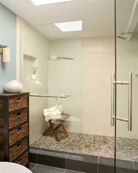 mid century zen master bathroom