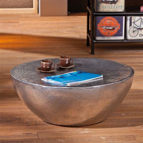 table basse aero argent