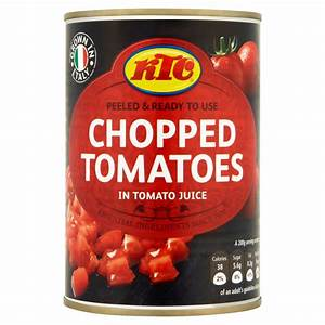 KTC Chopped Tomatoes in Tomato Juice 400g | Canned ...