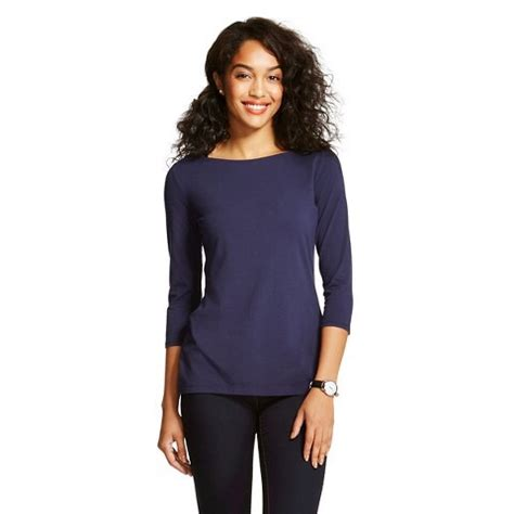 Boat Neck Tops Target by Boat Neck Top From Target Allthingscolorfulblog