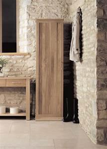 Buy Baumhaus Mobel Oak Tall Shoe Cupboard Online CFS UK