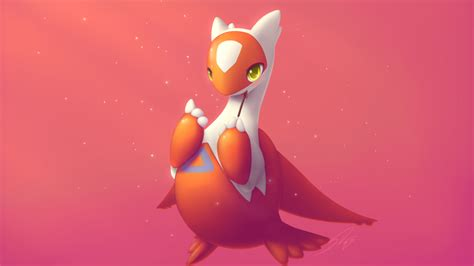 wallpaper latias pokemon orange hd creative graphics