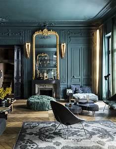 Bold, Dark, Colors, For, Paris, Apartment, U301b, Photos, Ideas, Design