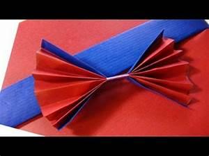 Geschenk Verpacken Schleife : geschenke verpacken mit f cher youtube ~ Orissabook.com Haus und Dekorationen