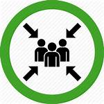 Assembly Point Icon Meeting Team Transparent Bullet