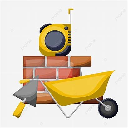 Tools Construction Clipart Herramientas Tool Building Cinta
