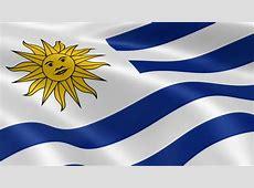 Uruguay Flag Loop 3 Stock Footage Video 1371238 Shutterstock