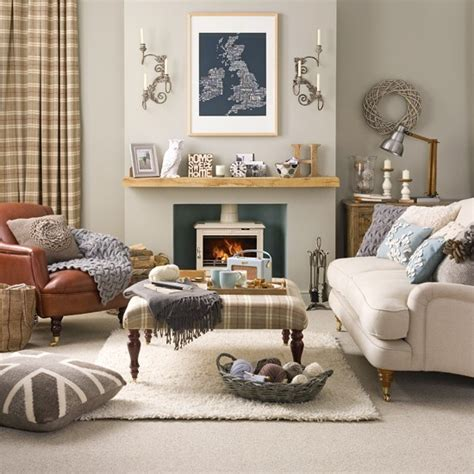 Country Livingrooms Relaxed Country Living Room Living Room Designs Fabrics Housetohome Co Uk