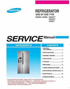 Samsung Rsg307aars Rsg307aabp Rsg307aawp Service Manual