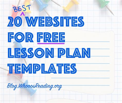 Exles Of Lesson Plan Templates by Free Lesson Plan Templates Free Lesson Planning Template