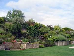 comment amenager un talus en pente With amenagement de jardin en pente 1 amenagement paysager talus pente classique grenoble