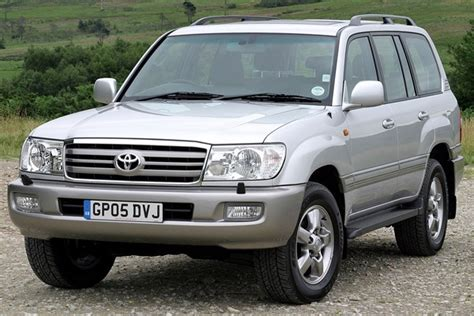2002 Toyota Land Cruiser by Toyota Land Cruiser Station Wagon Review 2002