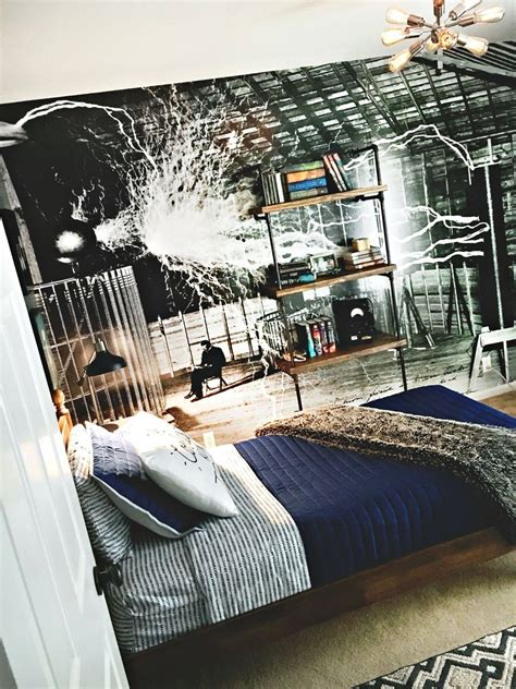 teen boy industrial science bedroom boys room teen