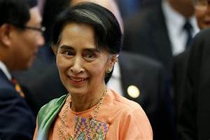 U.S. lifting sanctions on Myanmar as Suu Kyi visits | PBS ...