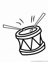 Drums Coloring Drum Pages Clip Colouring Clipart Cliparts Percussion Printable Music Template Library Coloringpages101 Templates Unique Number Favorites sketch template