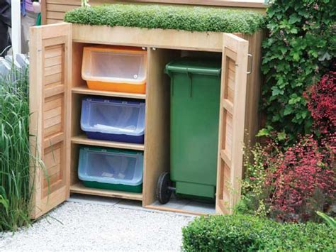 Backyard Storage Ideas by 24 Practical Diy Storage Solutions For Your Garden And Yard