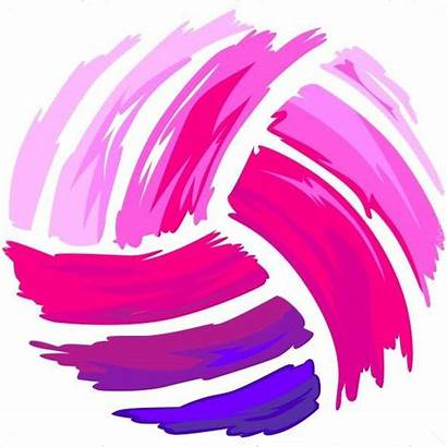Volleyball Shirt Painted Drawing Clipart Vector Crafts