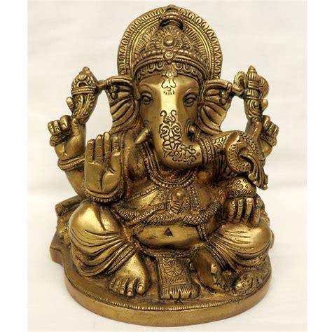 Ganesha brass murti Kali Mandir in Laguna Beach
