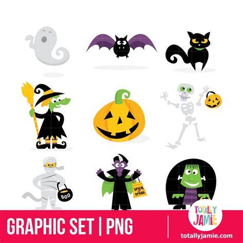 halloween monsters icons halloween monster graphic