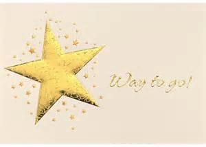 Congratulations Gold Star